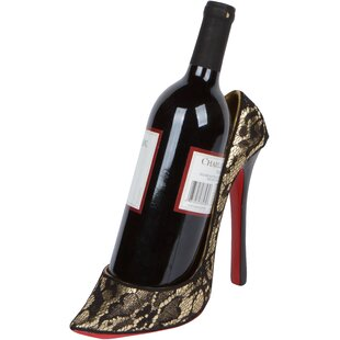 Byram High Heel Holder 1 Bottle Tabletop Wine Rack