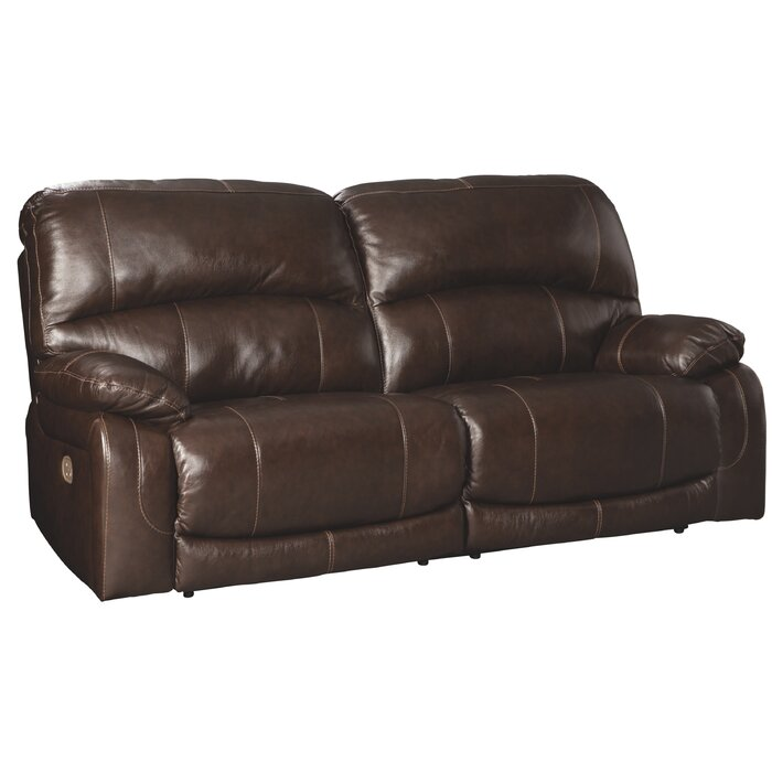Pisano Leather Reclining Sofa