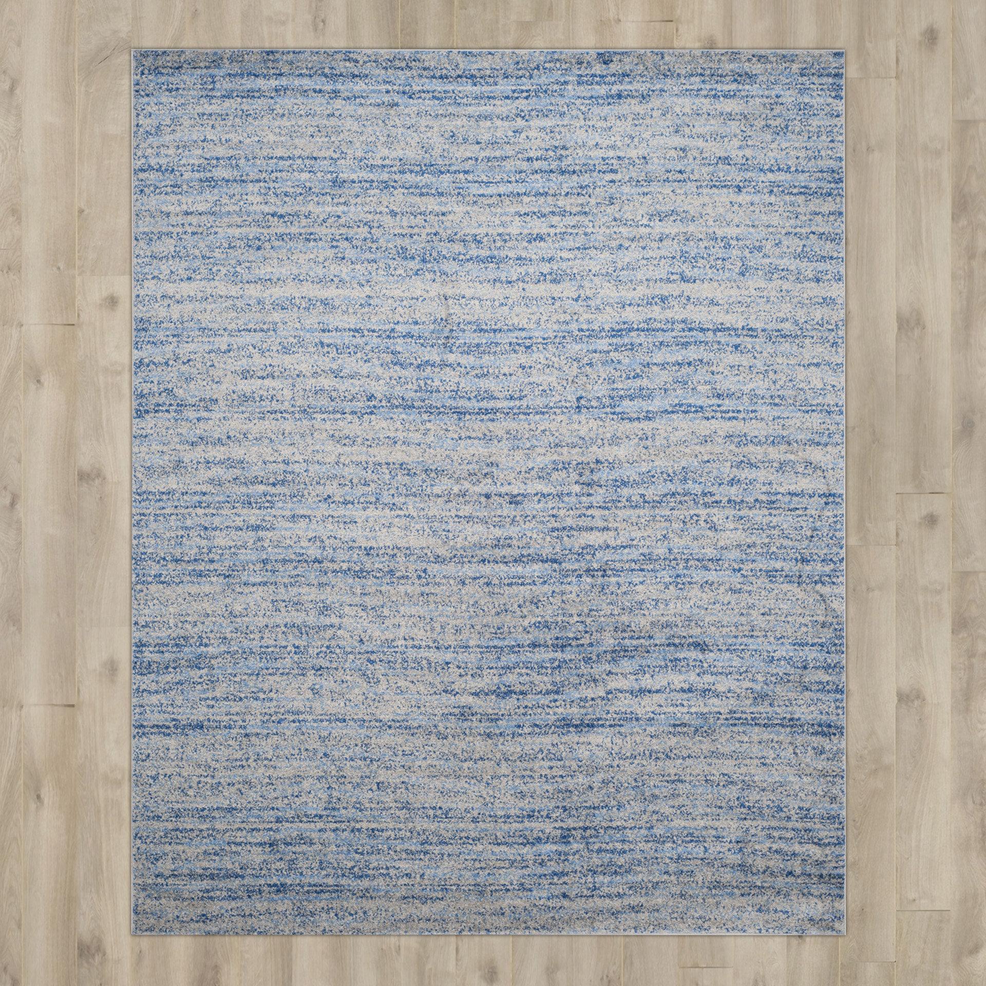 Trent Austin Design Millbrae Blue/Gray Area Rug & Reviews | Wayfair