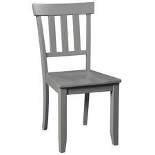 Black Wood Dining Chair modern slat back dining chairs   allmodern