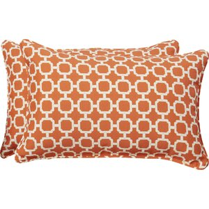 Tessa Corded Lumbar Pillow (Set of 2)