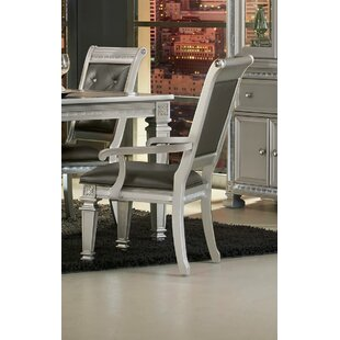 Julianne Upholstered Dining Arm Chair (Set of 2)