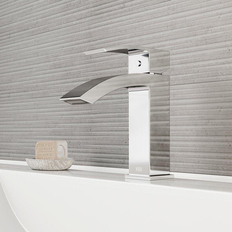 VIGO Satro Single Hole Bathroom Faucet & Reviews | Wayfair