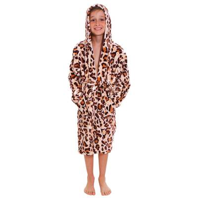 86f0c7bed3 Zoomie Kids Geurie Children s Bunny Print Terry Cloth Bathrobe