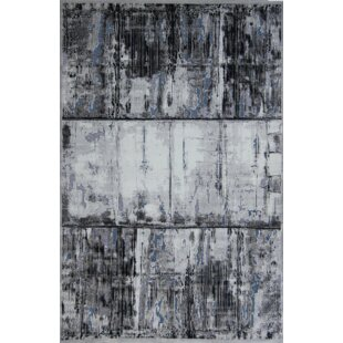 Price Check Emme Black/White Area Rug By 17 Stories