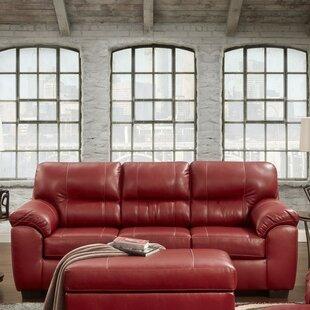 Rainsburg Red Sofa