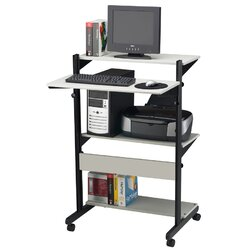 soho adjustable computer table av cart - Av Cart