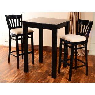 Eberhard 3 Piece Pub Table Set