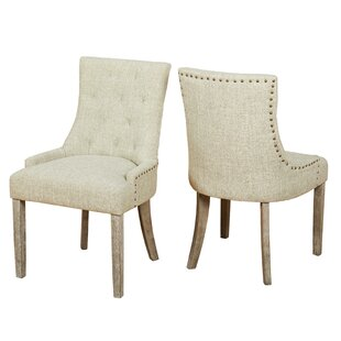Vicini Upholstered Dining Chair Set Of 2