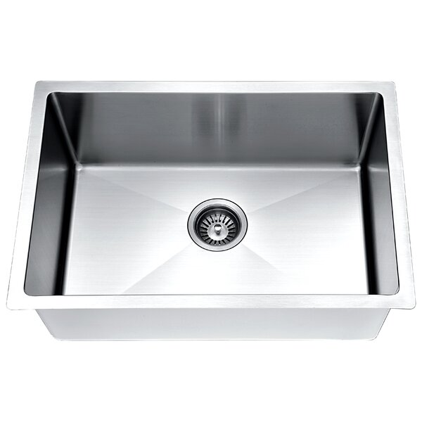 ESR240900 Extra Small Radius Stainless Steel Sink 18G