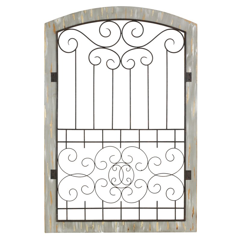 Large Rustic Gate Wall Décor