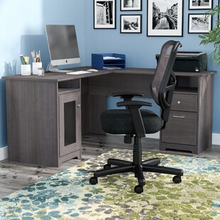 T shaped office desk furniture Computer Quickview Wayfair Shaped Office Desk Wayfair