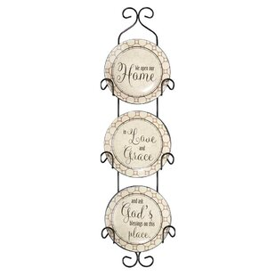 Callanan We Open Our Ceramic Decorative Plate  sc 1 st  Wayfair & Decorative Plate Rack | Wayfair