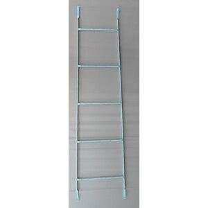 5.97 ft Iron Decorative Thin Straight Ladder