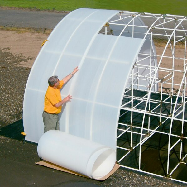 Solexx Solexx Greenhouse Panel Cover Amp Reviews Wayfair