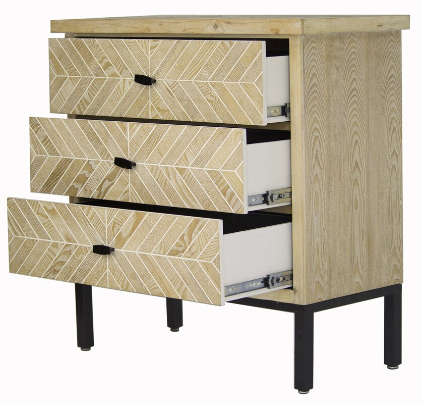 Kitchen Cabinets Bronx Ny: Ivy Bronx Eliza 3 Drawer Accent Chest & Reviews