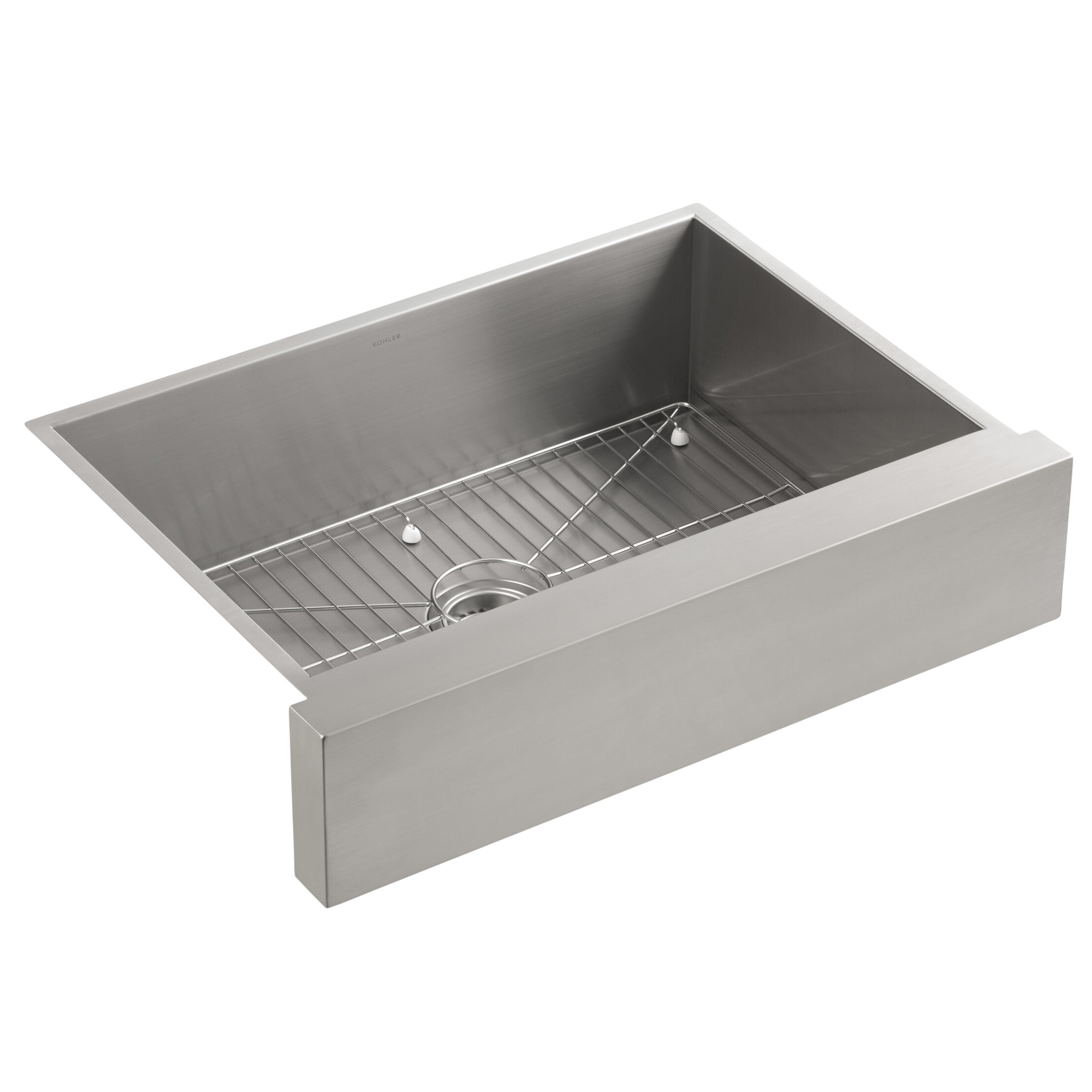 K-3936-NA Kohler Vault Under-Mount Single-Bowl Kitchen Sink ...