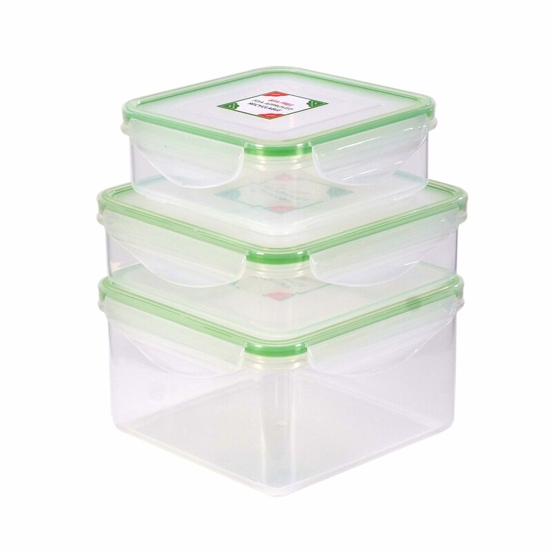Kinetic Fresh 3 Container Food Storage Set