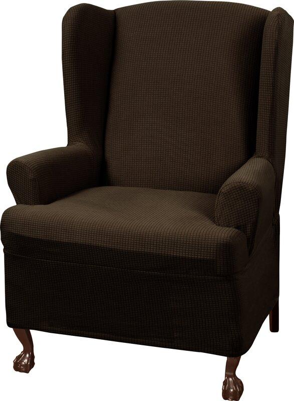 ... Wing Chair Slipcovers; SKU: TRPT1677