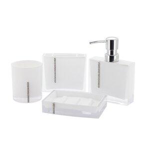 Bathroom Accessories With Swarovski Crystals swarovski crystal bathroom accessories   wayfair