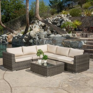 Awesome Vanbuskirk 6 Piece Seating Group With Sunbrella Cushion