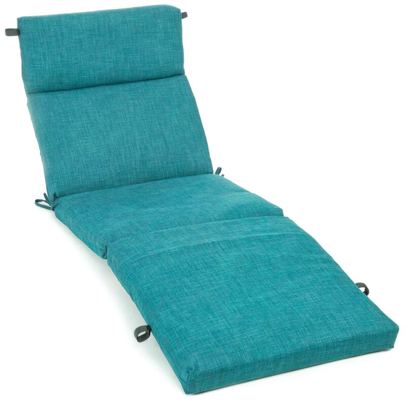 three posts indoor outdoor chaise lounge cushion reviews wayfair