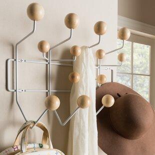 Bilokur Mid Century Modern Light Brown Coat Hanger