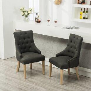 Chaises de salle à manger: Caractéristiques - Coussins capitonnés ...