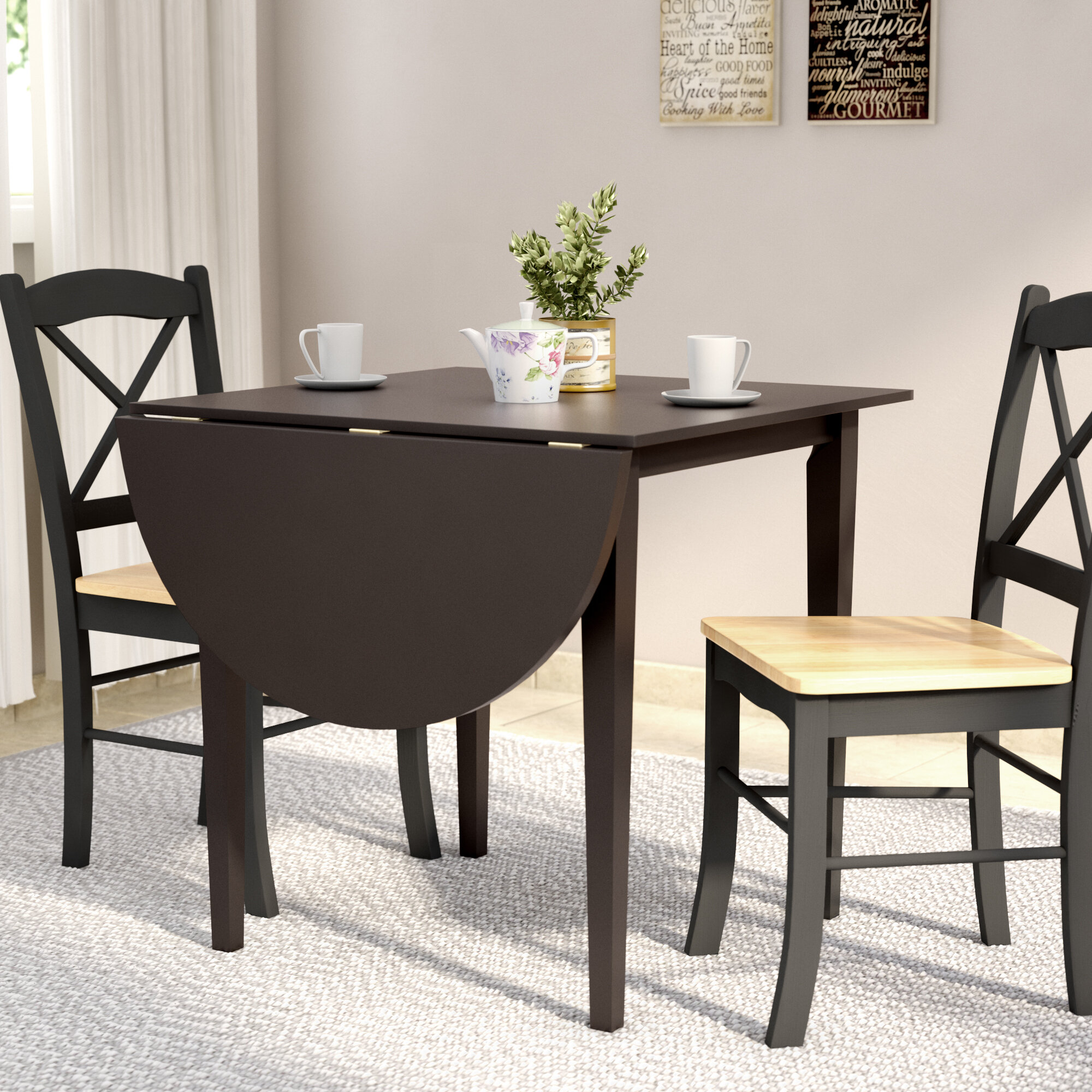 Charlton Home Castellon Dining Table Reviews