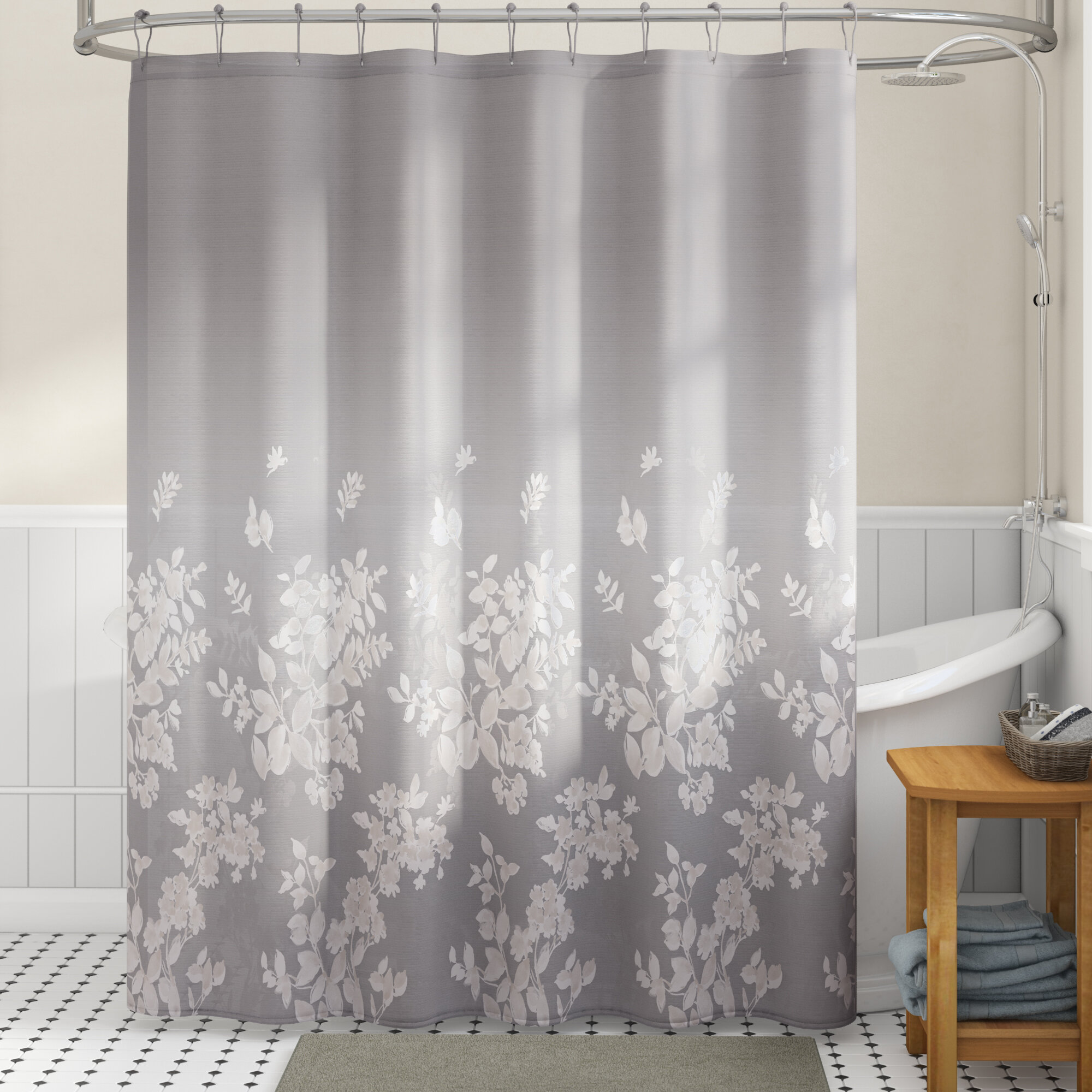 Kinsman 100 Cotton Single Shower Curtain Reviews