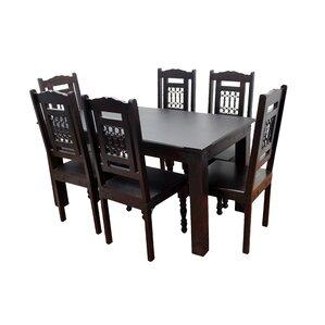 Milan 7 Piece Dining Set by MOTI Furniture