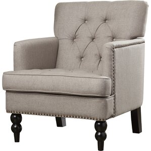 Wappinger Fabric Armchair by Alcott Hill