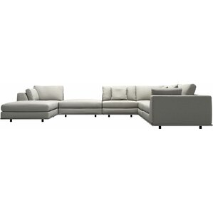 Perry 2 Corner Sectional by Modloft
