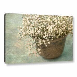 Irish Pot with Lace Graphic Art on Wrapped Canvas