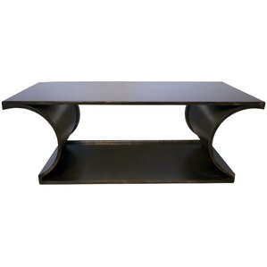 Alec Metal Coffee Table by Noir