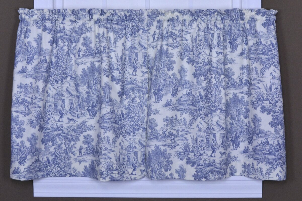 Lablanc Toile Tier Curtain