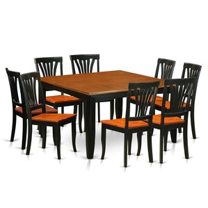 Parfait 9 Piece Dining Set by Wooden Importers
