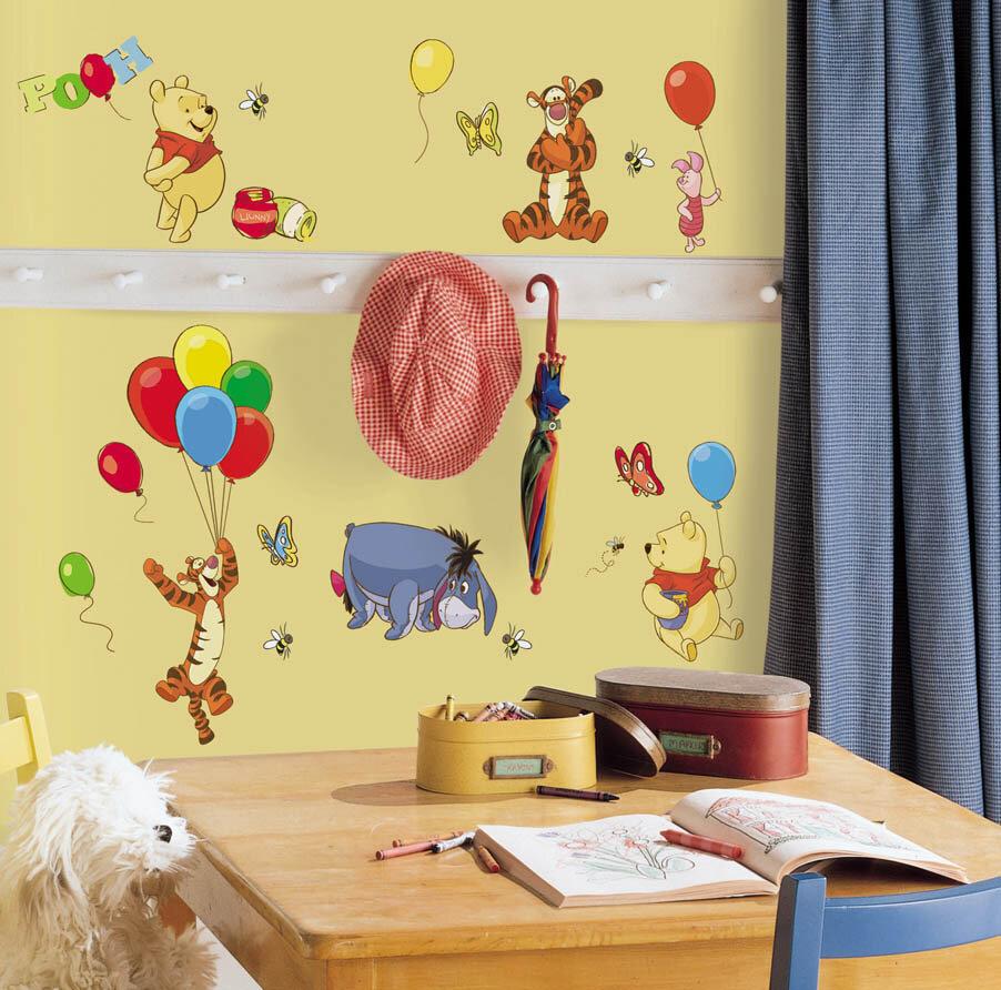 Wallhogs Disney Pooh and Friends Cutout Wall Decal & Reviews | Wayfair