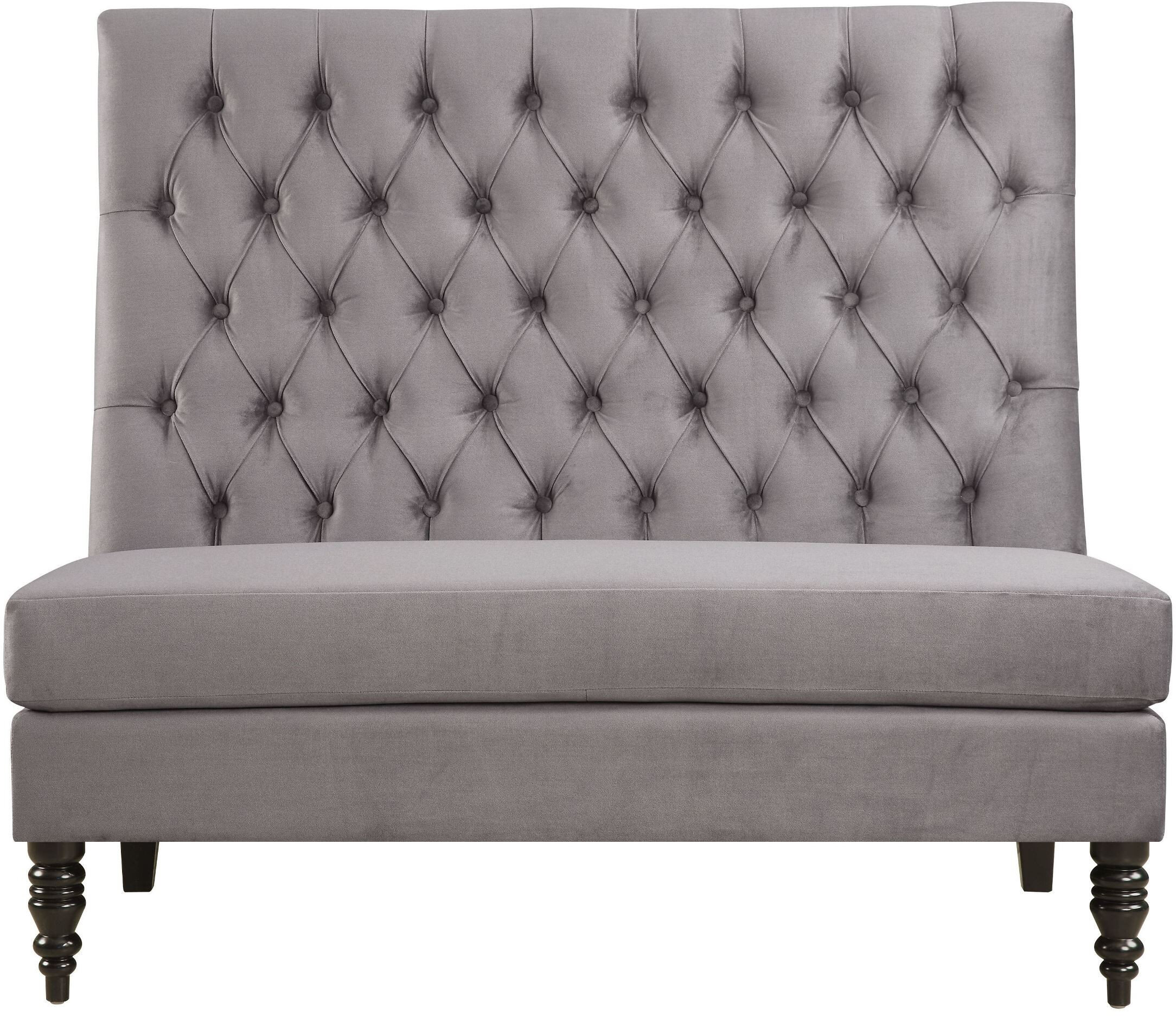 Picture of: Willa Arlo Interiors Greenford 49 5 Tufted Settee Bench Reviews Wayfair Ca