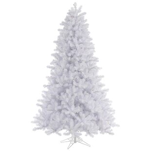 10 crystal white pine christmas tree with stand - Wayfair Christmas