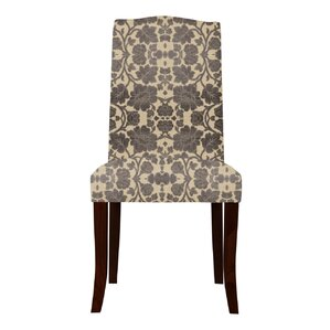 Lasseter Back Floral Parsons Chair (Set of 2) by Red Barrel Studio