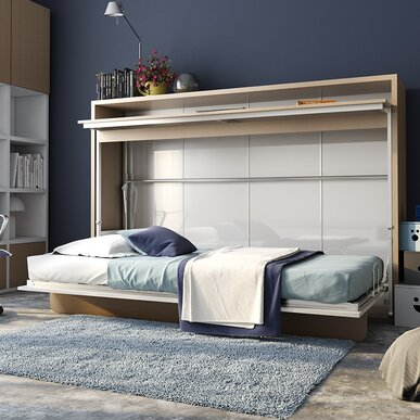 Furniture for small houses Italian Small Bedrooms Wayfair Small Space Furniture Youll Love Wayfairca