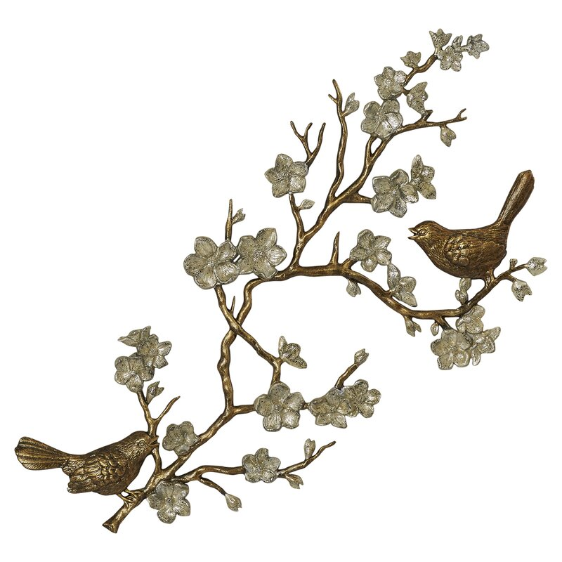 Twig Wall Decor one allium way brianne wall décor & reviews | wayfair