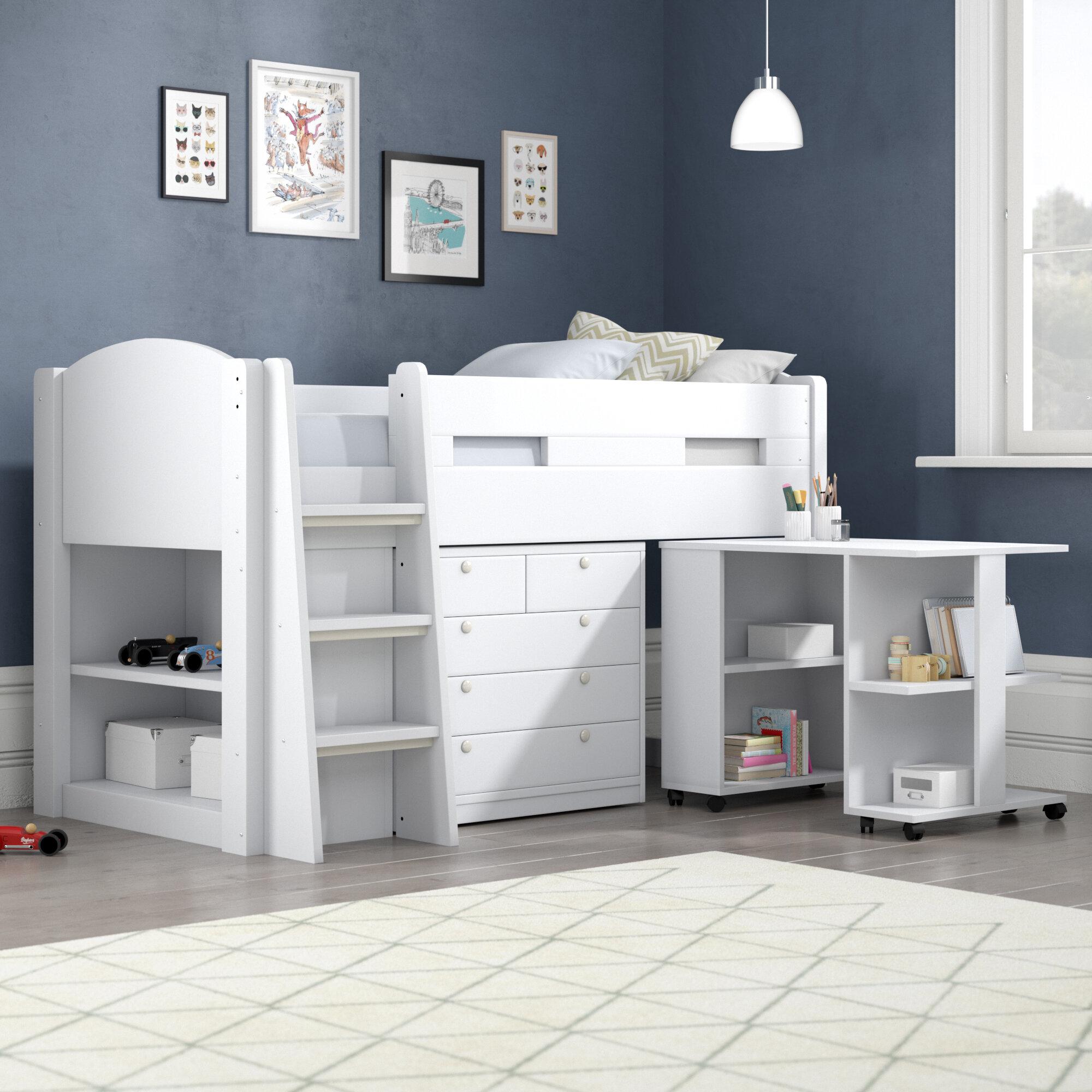 Flintshire Furniture Frankie Cabin Bed With Storage And Desk Reviews Wayfair Co Uk