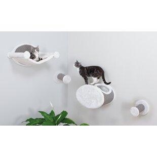 4 Piece Wall Mounted Cat Lounging Set