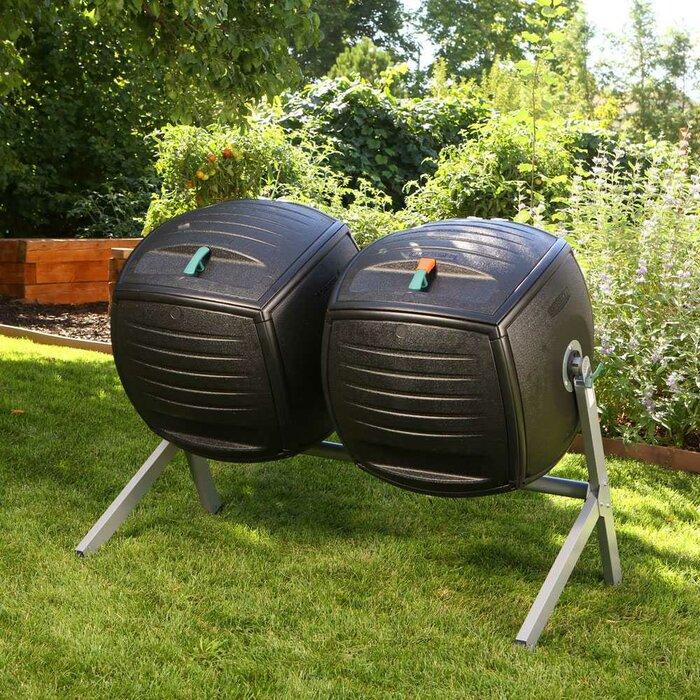Dual 50 Gal  Tumbler Composter