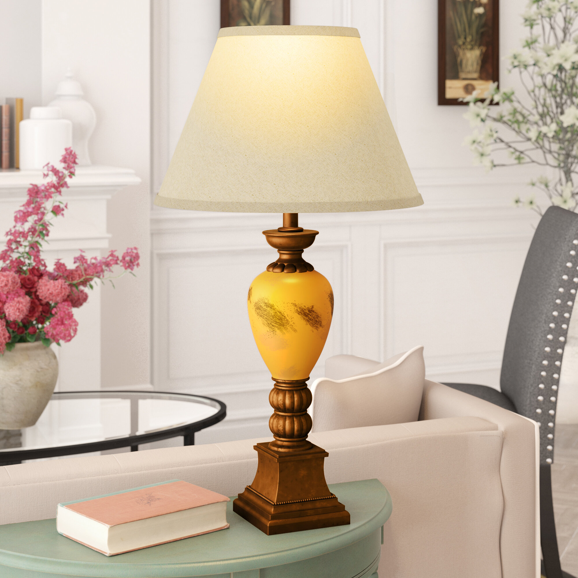Astoria grand maclin traditional 29 table lamp wayfair