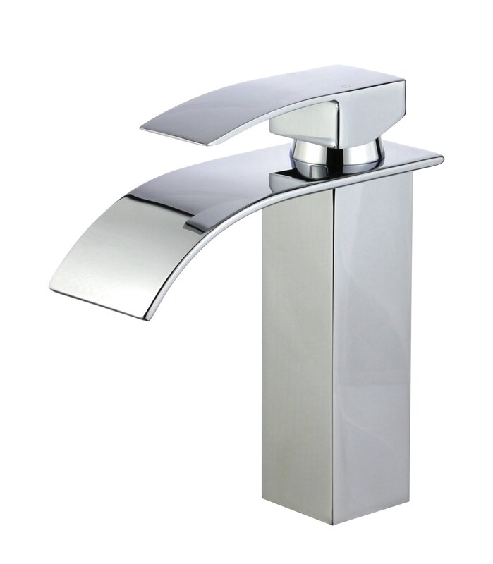 Bellaterra Home Santiago Bathroom Faucet with Drain Assembly ...
