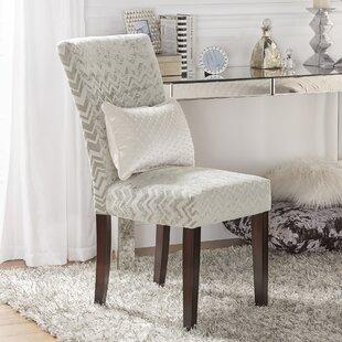 Hurst Chevron Print Parson Chair (Set of 2)