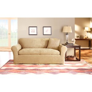 Sure Fit Box Cushion Sofa Slipcover Set Image